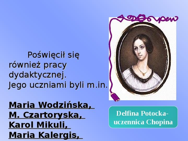 Fryderyk Chopin - największy polski kompozytor - Slajd 23