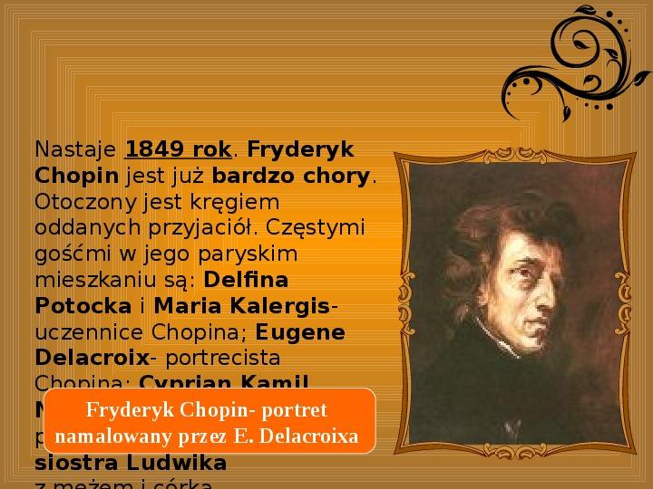 Fryderyk Chopin - największy polski kompozytor - Slajd 27