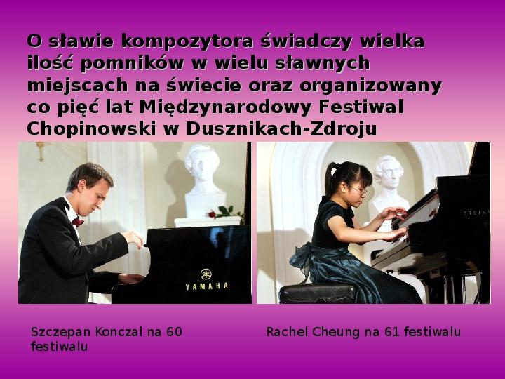 Fryderyk Chopin - największy polski kompozytor - Slajd 30