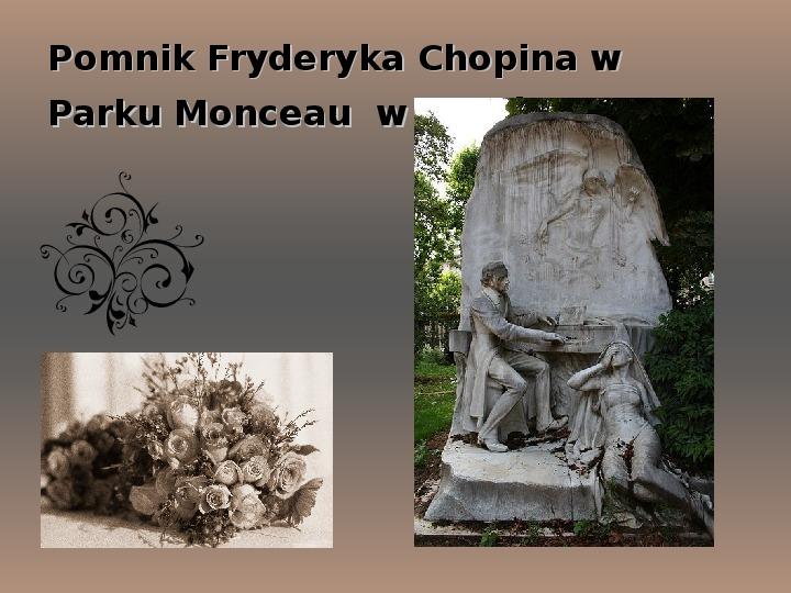 Fryderyk Chopin - największy polski kompozytor - Slajd 34