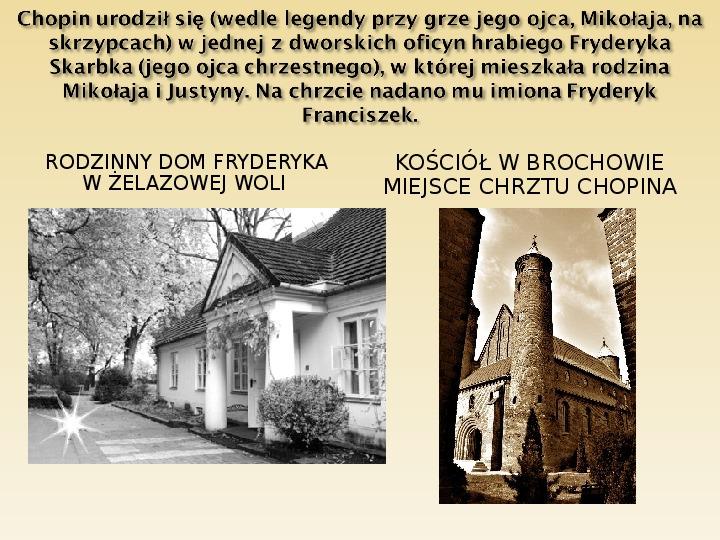 Śladami Fryderyka Chopina - Slajd 2