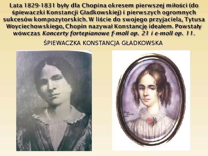 Śladami Fryderyka Chopina - Slajd 6