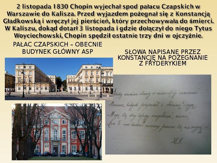 Śladami Fryderyka Chopina - Slajd 8