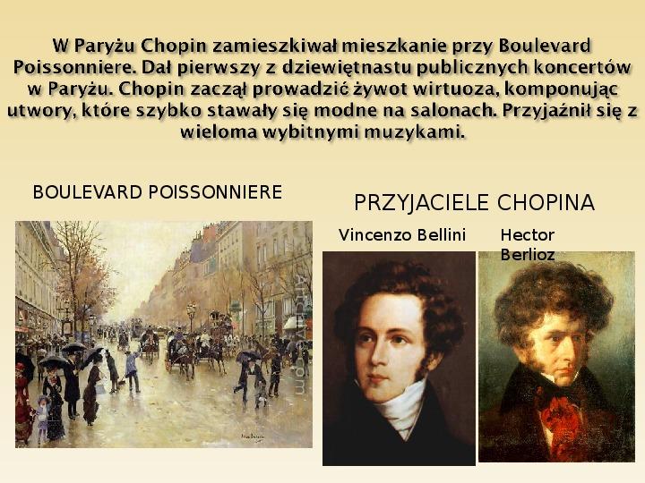 Śladami Fryderyka Chopina - Slajd 10