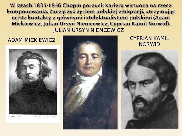 Śladami Fryderyka Chopina - Slajd 12