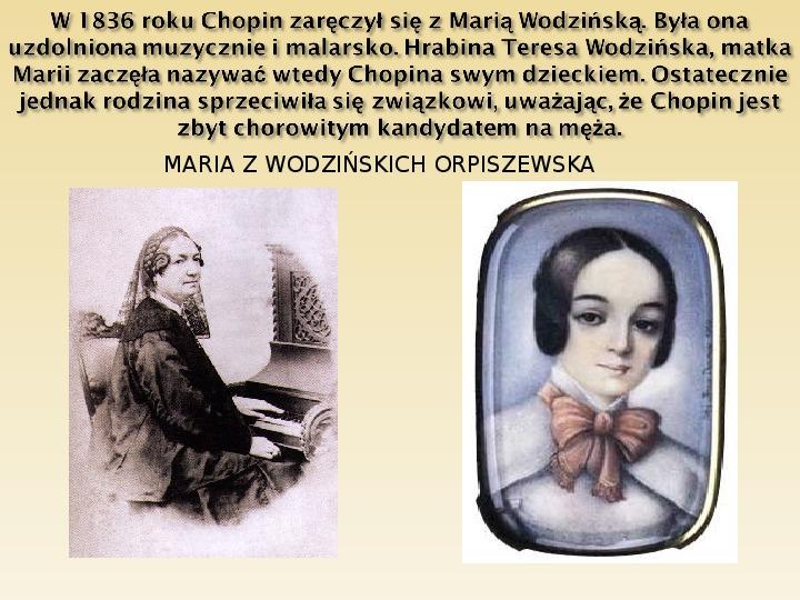 Śladami Fryderyka Chopina - Slajd 14