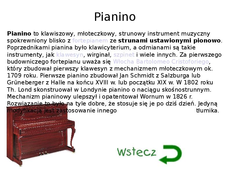 Instrumenty muzyczne - Slajd 3