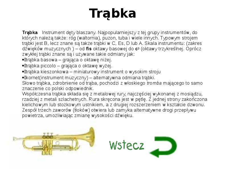 Instrumenty muzyczne - Slajd 4