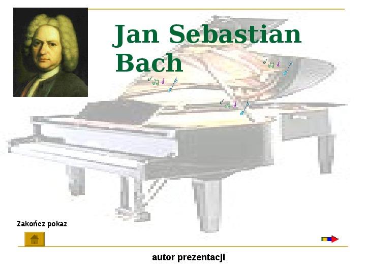 Jan Sebastian Bach - Slajd 1
