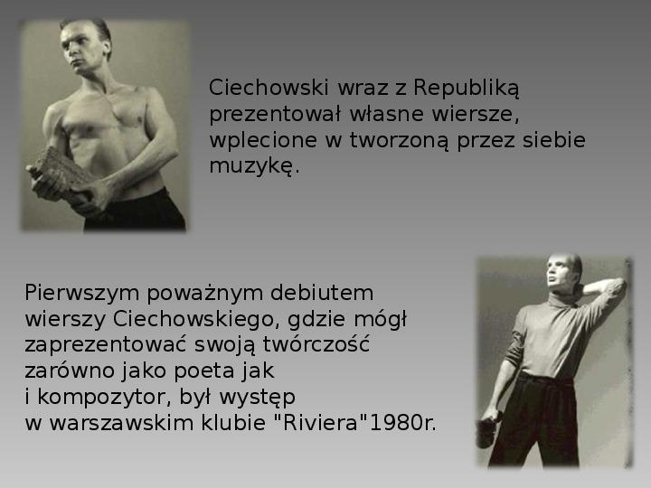 Grzegorz Ciechanowski - Slajd 3