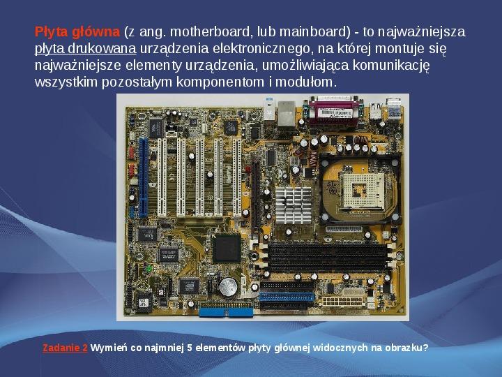 Komputer i Informatyka - Slajd 3