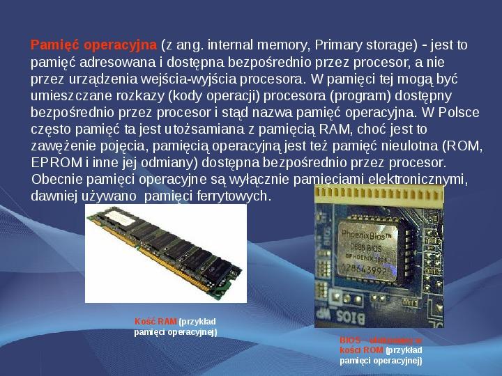 Komputer i Informatyka - Slajd 5