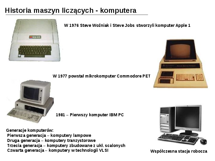 Budowa i działanie komputera - Slajd 7