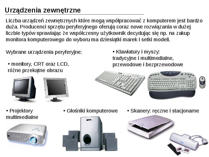 Budowa i działanie komputera - Slajd 27
