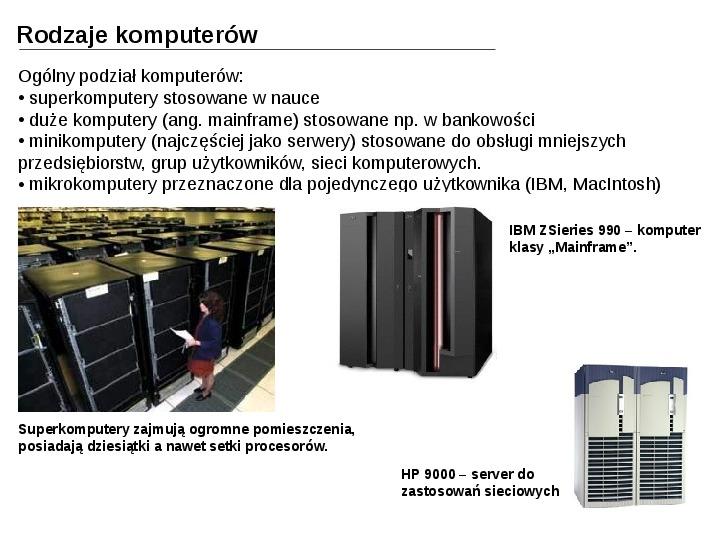 Budowa i działanie komputera - Slajd 30