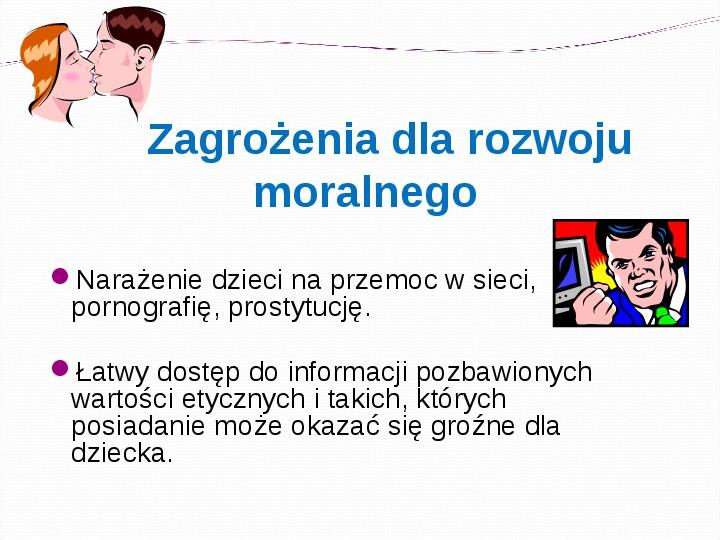 KOMPUTERY, INTERNET KORZYŚCI I ZAGROŻENIA - Slajd 12