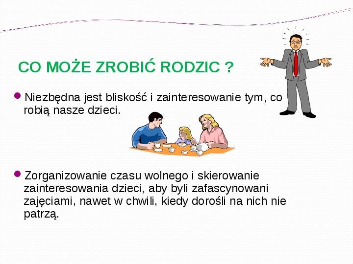 KOMPUTERY, INTERNET KORZYŚCI I ZAGROŻENIA - Slajd 13