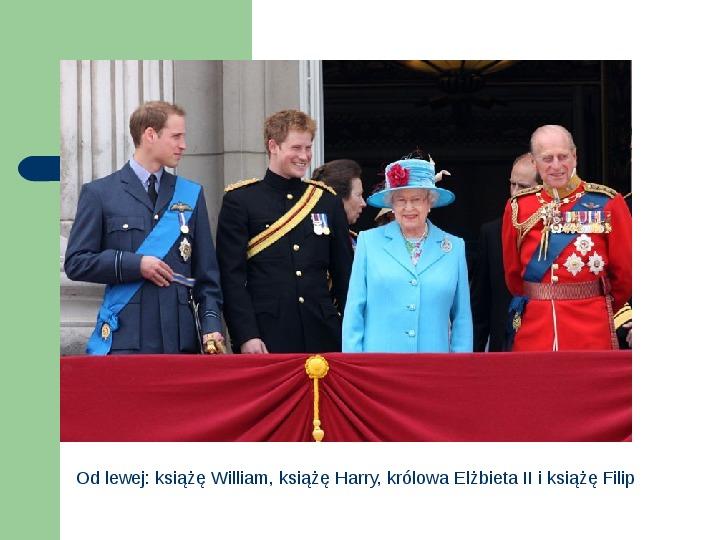 Brytyjska Rodzina Królewska - Slajd 1