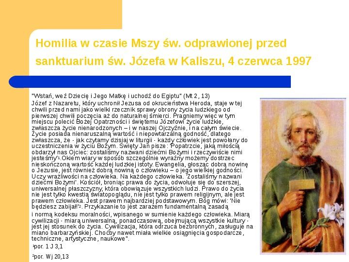 JAN PAWEŁ II - Slajd 8