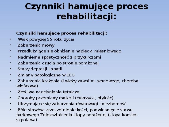 Choroby cywilizacyjne - Slajd 35