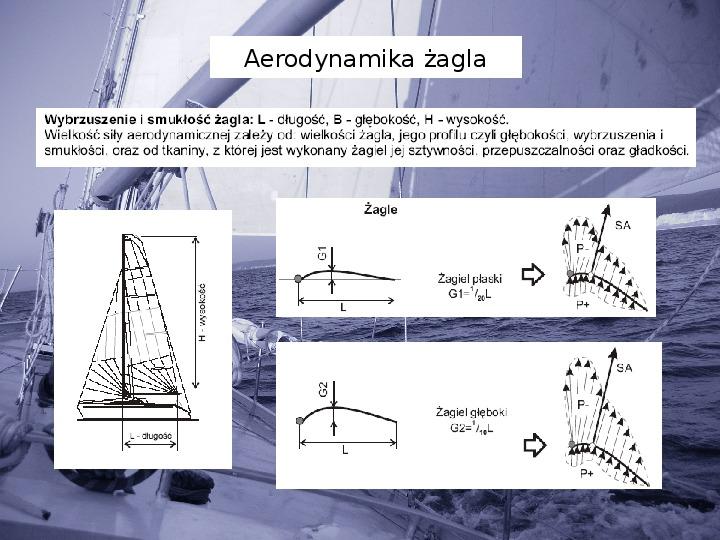 Elementy teorii żeglowania - Slajd 9