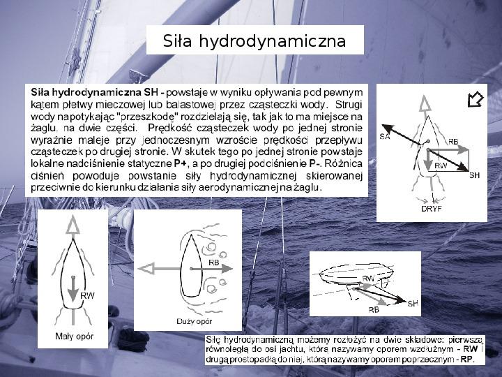 Elementy teorii żeglowania - Slajd 11