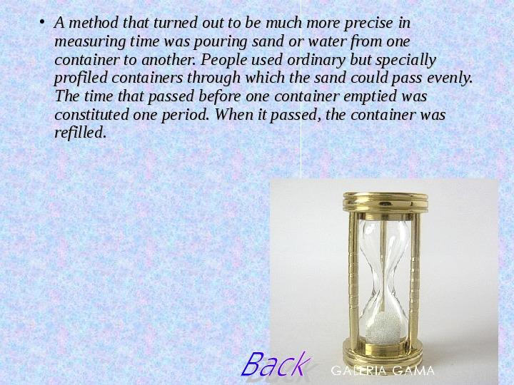 Sposoby mierzenia czasu - Slajd 4