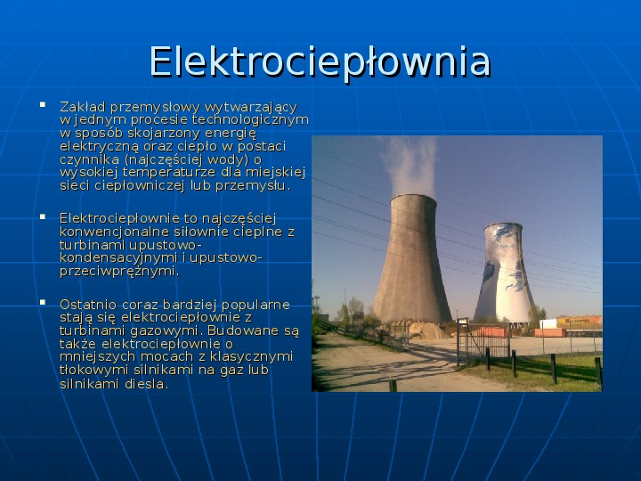 Elektrownie - Slajd 3