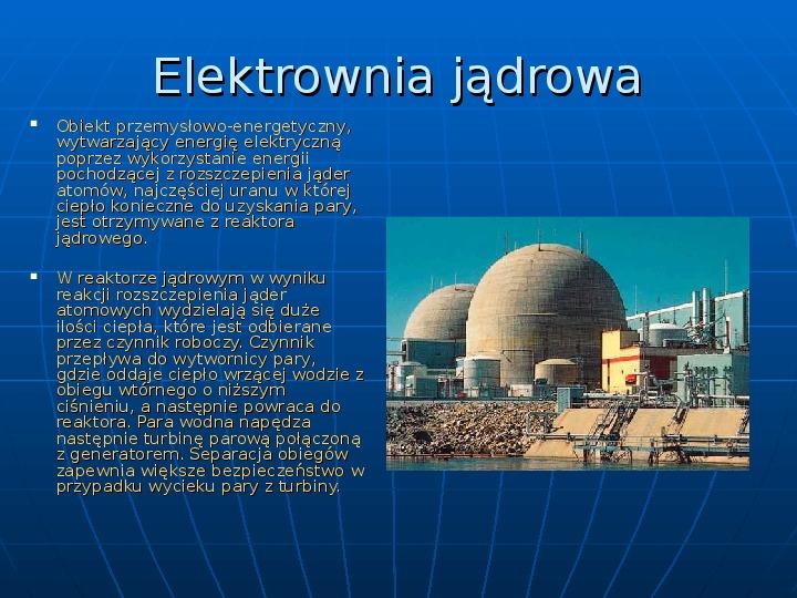 Elektrownie - Slajd 5