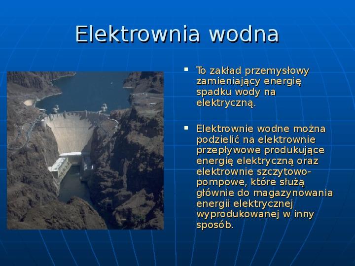 Elektrownie - Slajd 6