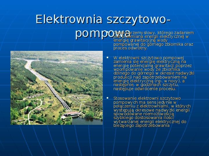 Elektrownie - Slajd 7