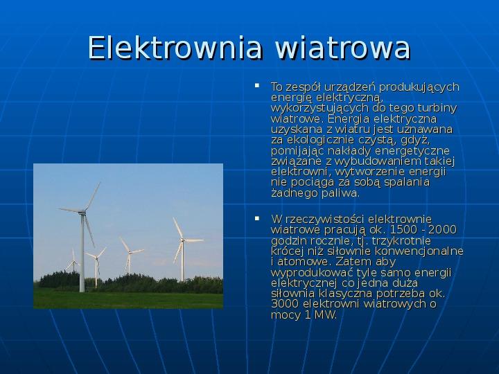 Elektrownie - Slajd 9