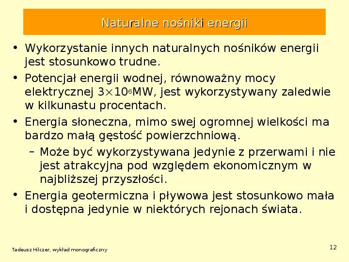 Energetyka jądrowa - Slajd 11
