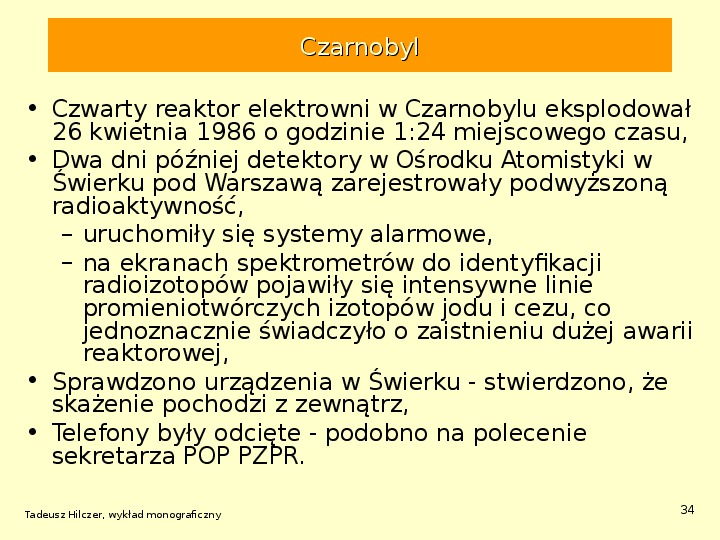 Energetyka jądrowa - Slajd 33