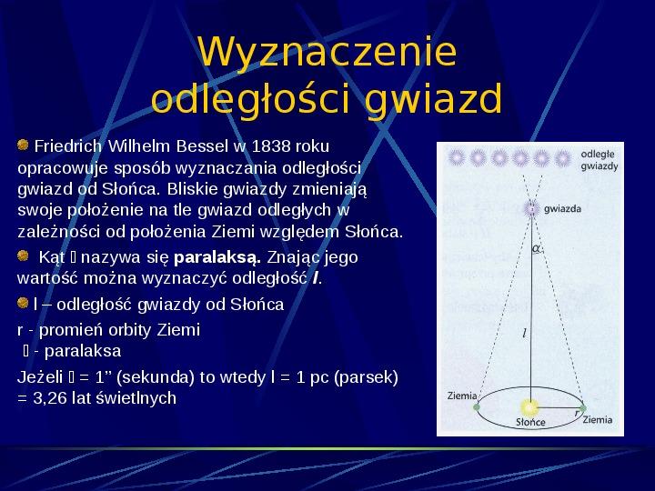 Podstawowe jednostki długości w astronomii - Slajd 9