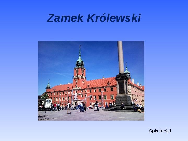 Zabytki Warszawy - Slajd 2