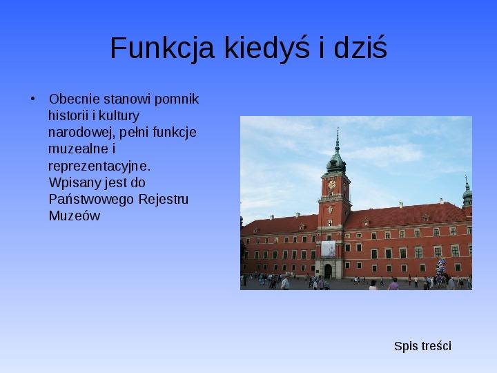 Zabytki Warszawy - Slajd 6