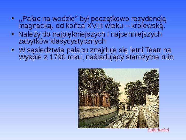 Zabytki Warszawy - Slajd 9