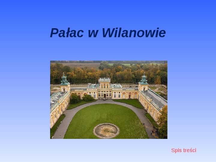 Zabytki Warszawy - Slajd 10