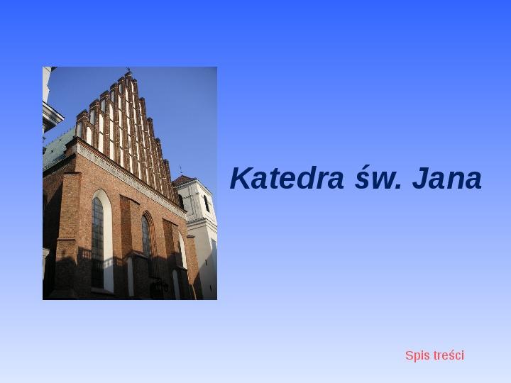Zabytki Warszawy - Slajd 12
