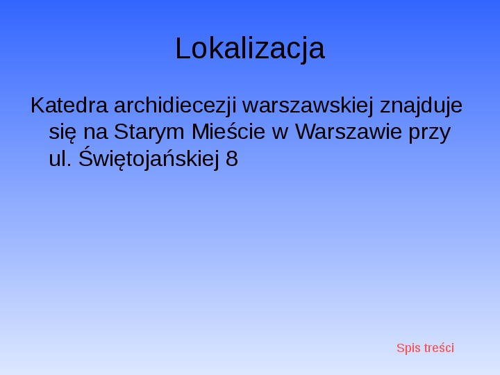 Zabytki Warszawy - Slajd 13
