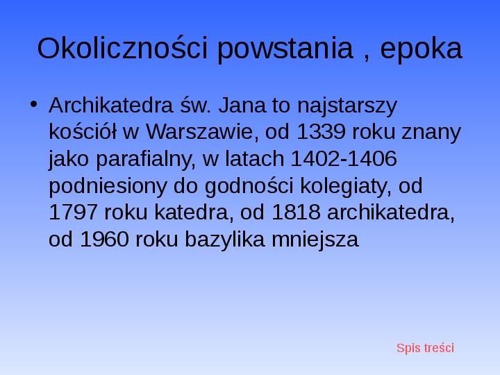 Zabytki Warszawy - Slajd 14