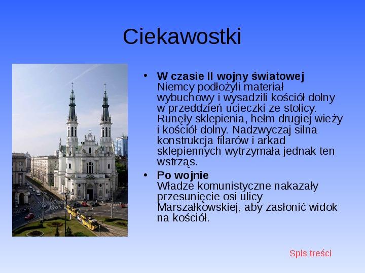 Zabytki Warszawy - Slajd 20