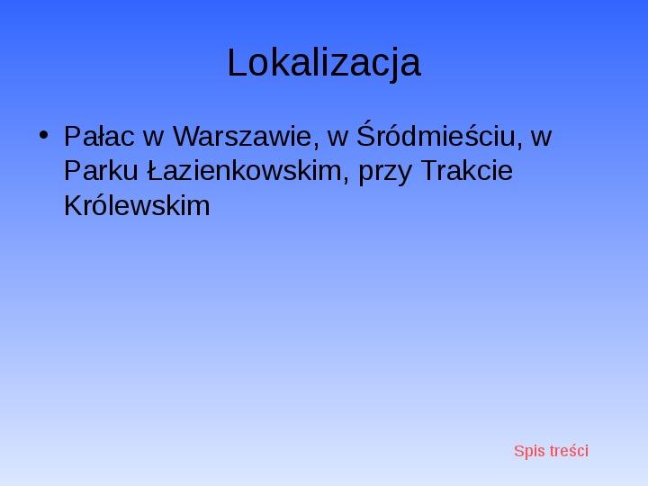 Zabytki Warszawy - Slajd 22
