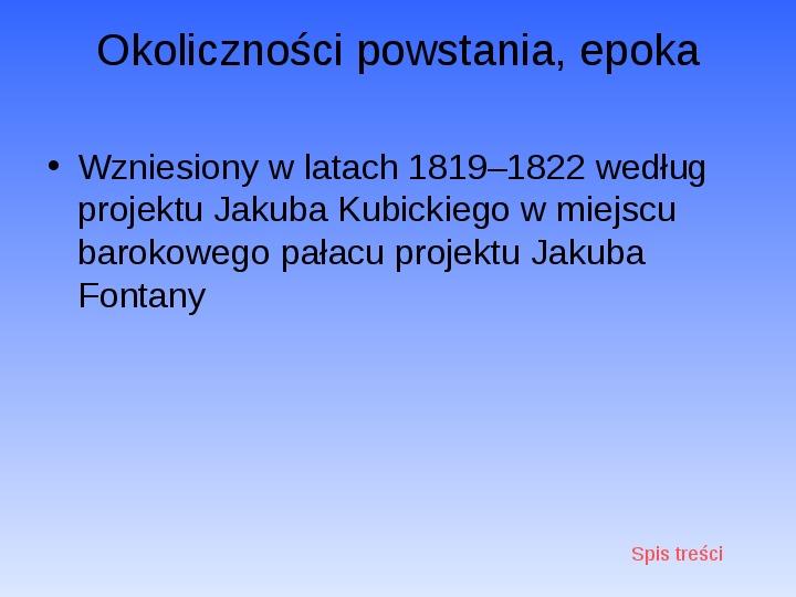 Zabytki Warszawy - Slajd 23