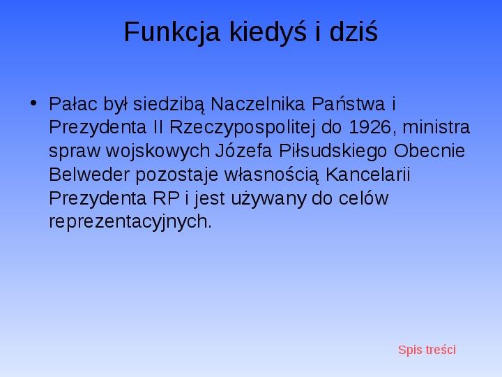 Zabytki Warszawy - Slajd 25