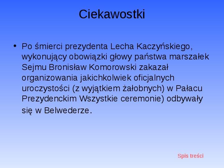 Zabytki Warszawy - Slajd 26