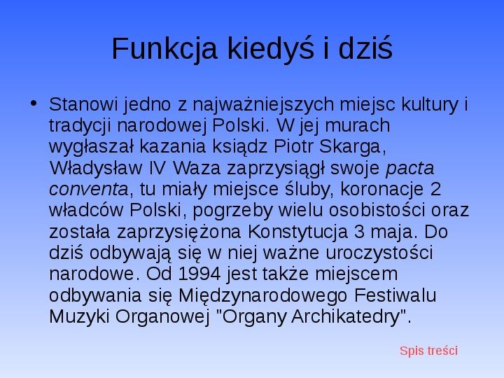 Zabytki Warszawy - Slajd 27