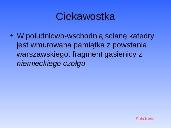 Zabytki Warszawy - Slajd 28