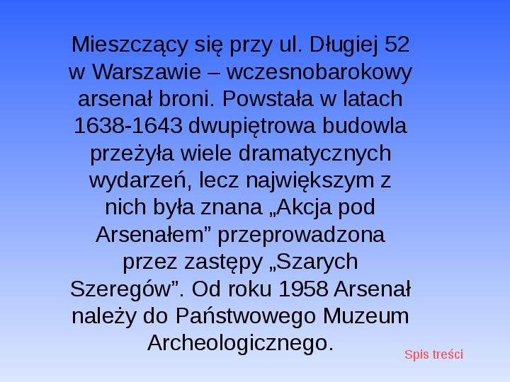 Zabytki Warszawy - Slajd 33